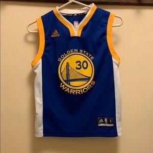 ADIDAS Golden State Warriors #30 Curry Jersey